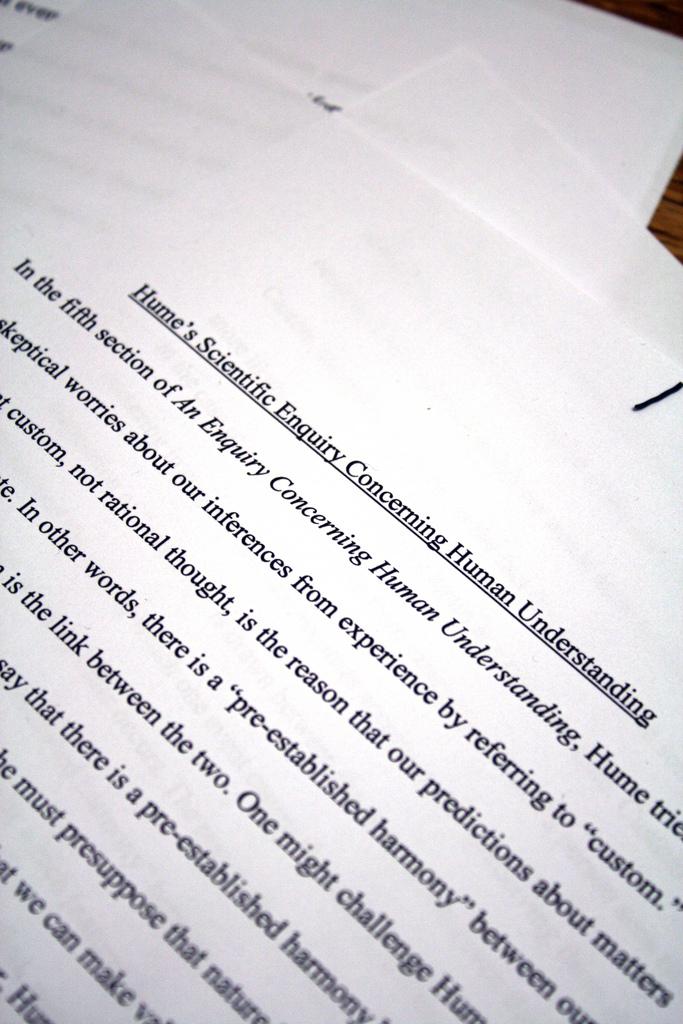 Cheating essay