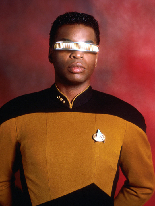 Star Trek The Next Generation Levar Burton As Lieutenant